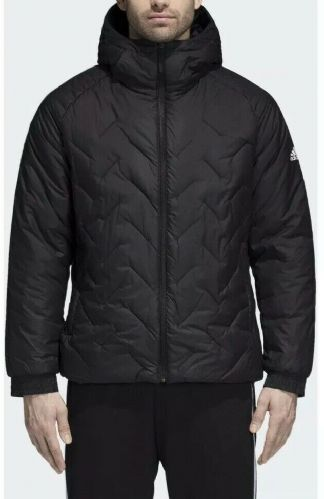 adidas Men's BTS Black Winter Jacket Coat CY9123 free UK delivery